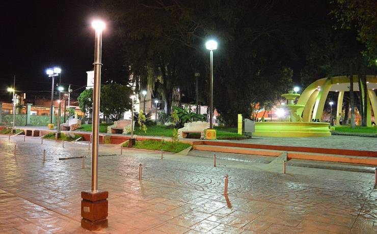 Parque Central de Siguatepeque